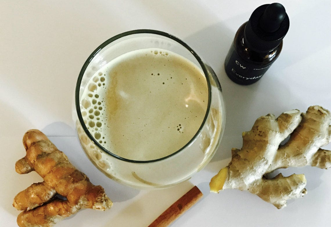 Charlotte's Web Latte Recipe