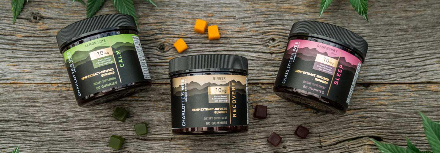NEW! Charlotte's Web CBD Gummies for Sleep, Calm and Exercise Recovery