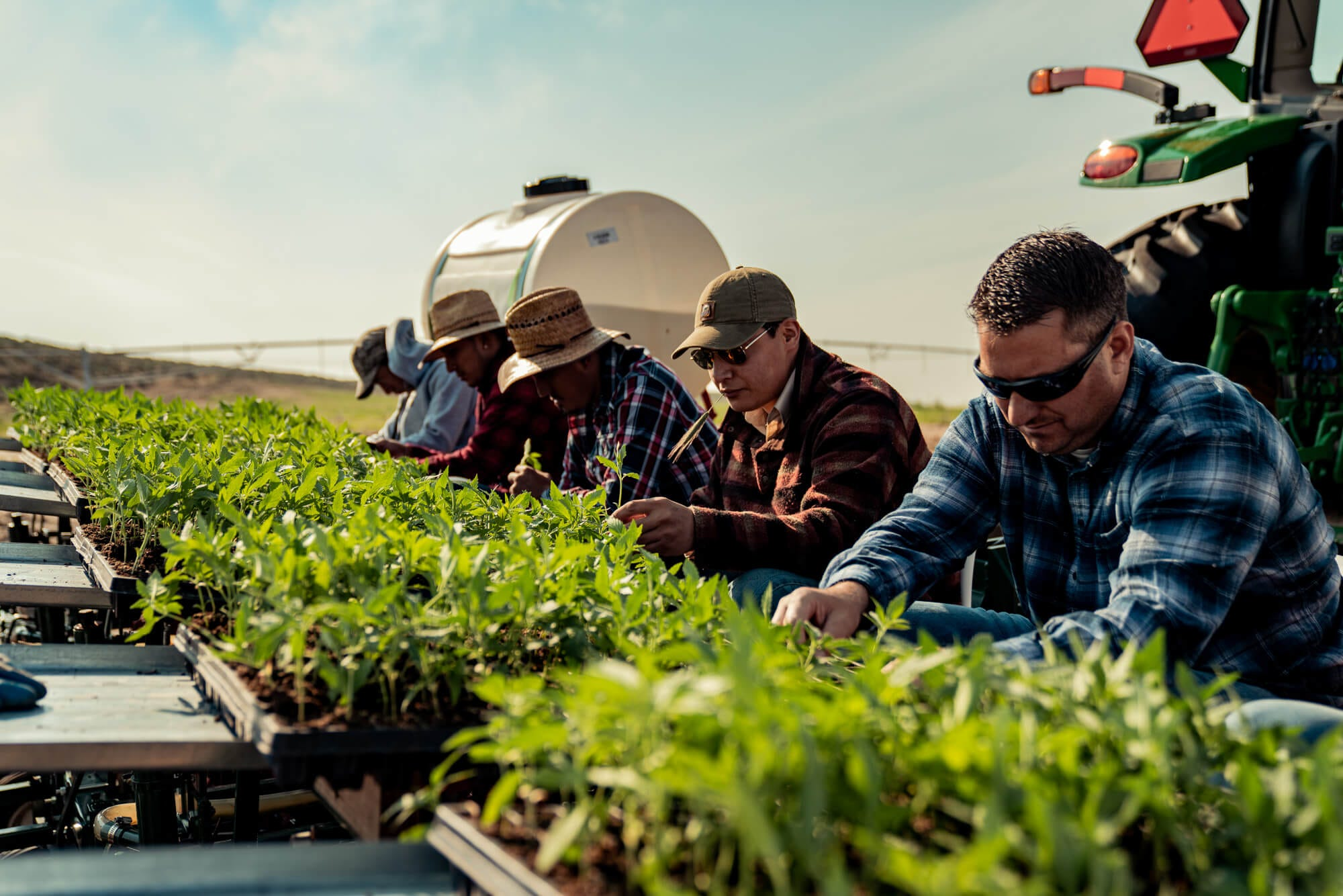 Beyond the Seed: Four Faces On The Farm in Planting Season