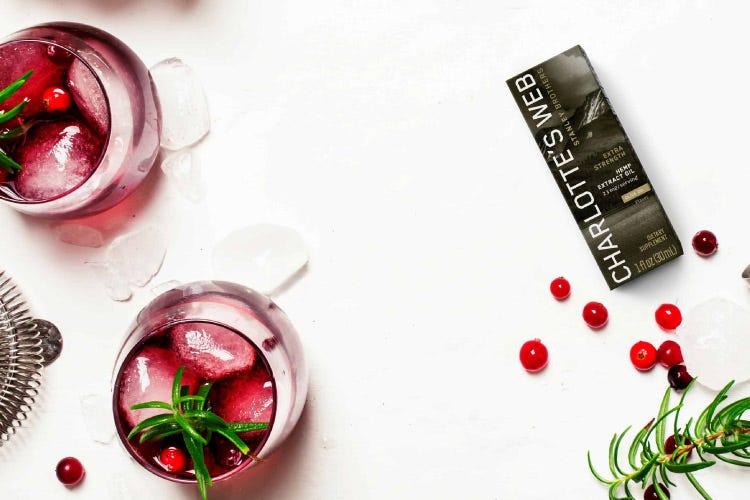 CBD Mocktail Drink Recipe