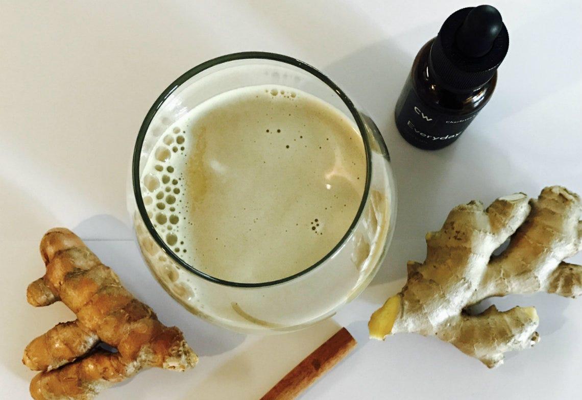 CW Hemp Latte Recipe