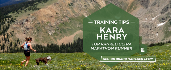 Ultra Running Training Tips With Kara henry