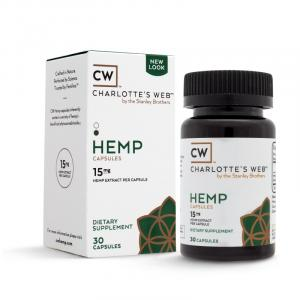 Charlotte's Web Hemp CBD Capsules