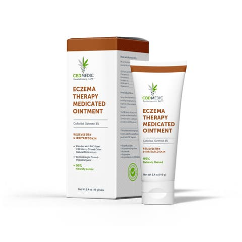 Eczema Therapy Medicated Ointment with CBD | Charlotte's Web™