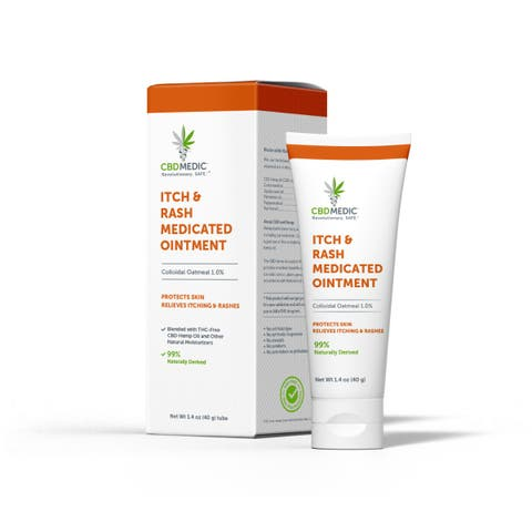 Itch, Rash & Pain Medicated Ointment with CBD | Charlotte's Web™