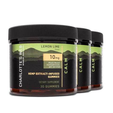 3-pack 30ct CBD Calm* Gummies | Charlotte's Web™