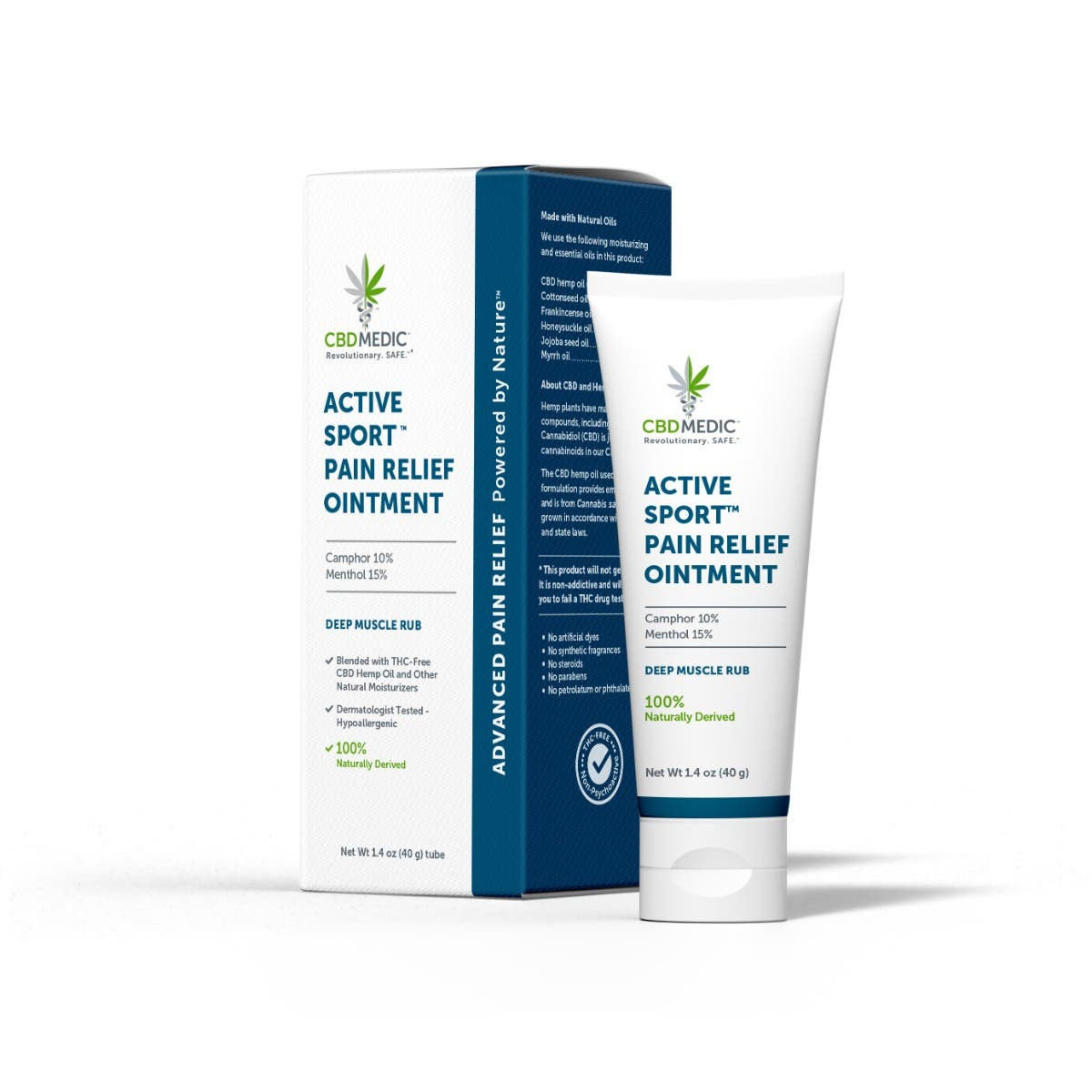 ACTIVE SPORT™ PAIN RELIEF OINTMENT