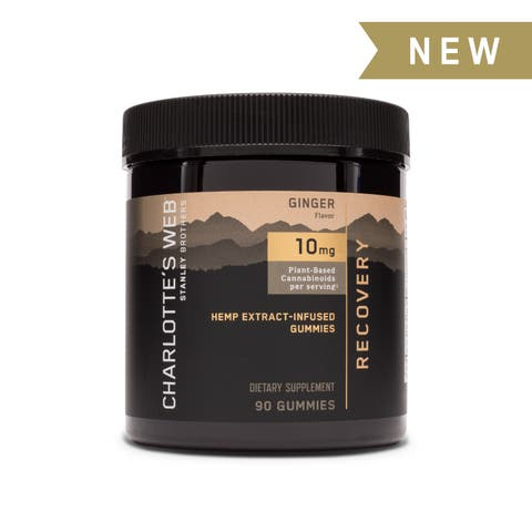 Ginger + Turmeric CBD Gummies For Recovery | Charlotte's Web™️