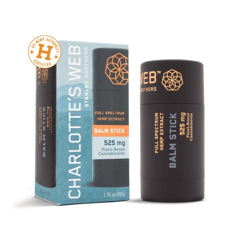 Hemp-Infused Balm Stick with CBD from Charlotte's Web™️