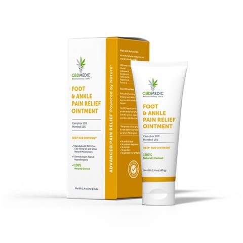 Foot & Ankle Pain Relief Ointment with CBD | Charlotte's Web™