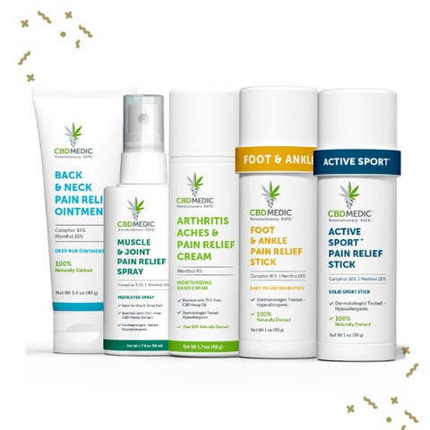 Pain Relief Gift Set | Charlotte's Web™