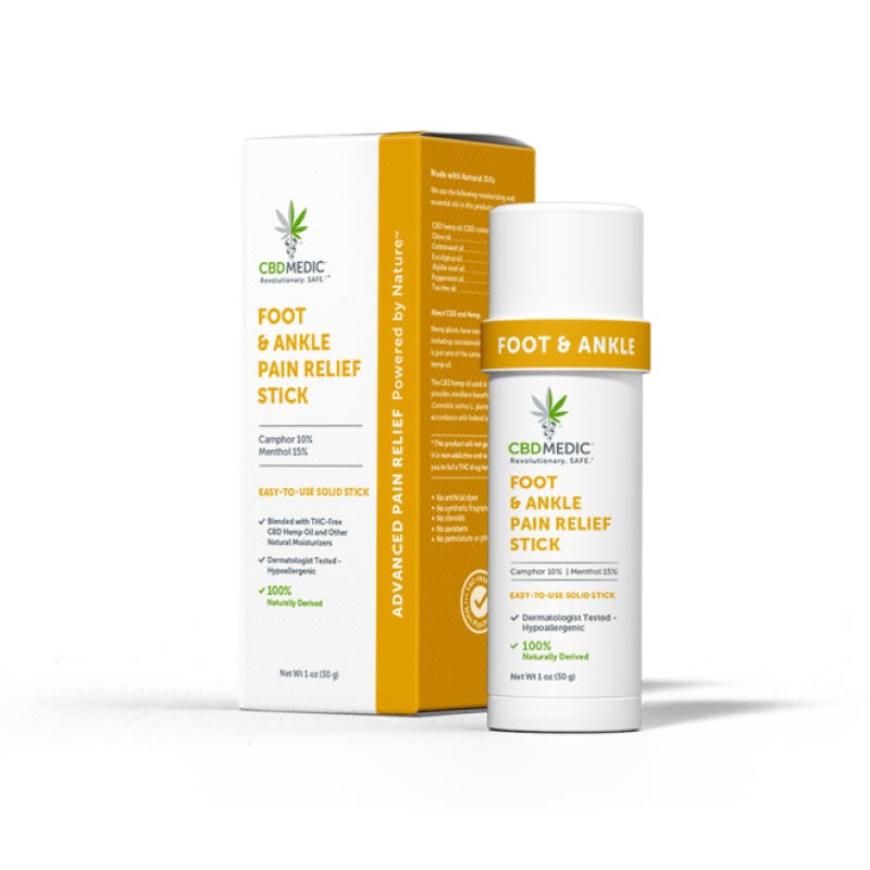 Foot & Ankle Pain Relief Stick with CBD | Charlotte's Web™