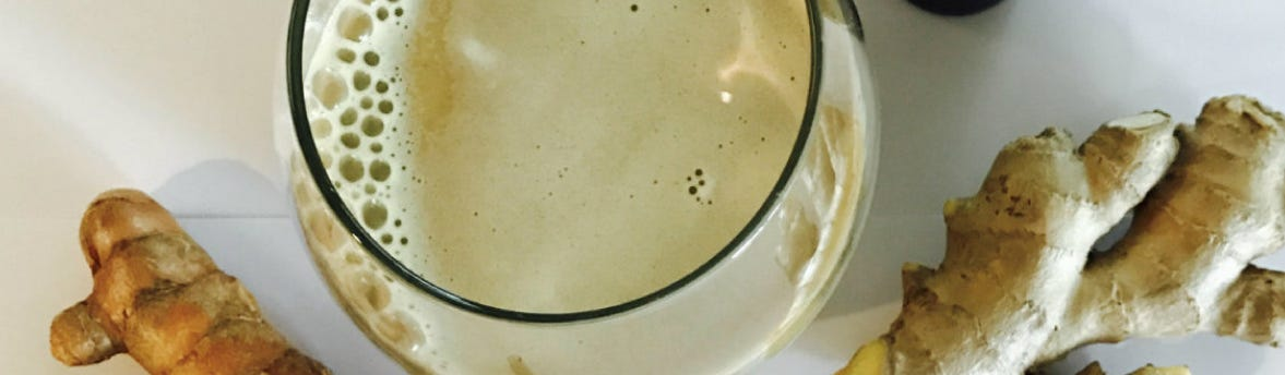 Raw Golden Milk Hemp Oil Latte Recipe