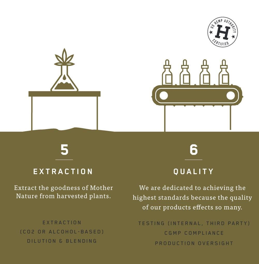 Charlotte's Web™ Growing and Harvest Process: Extraction and Quality