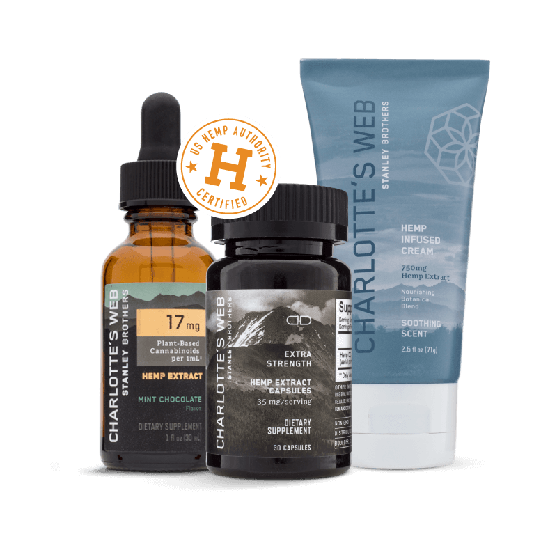 Charlotte's Web CBD Official Site: CBD Oil, Capsules and Creams
