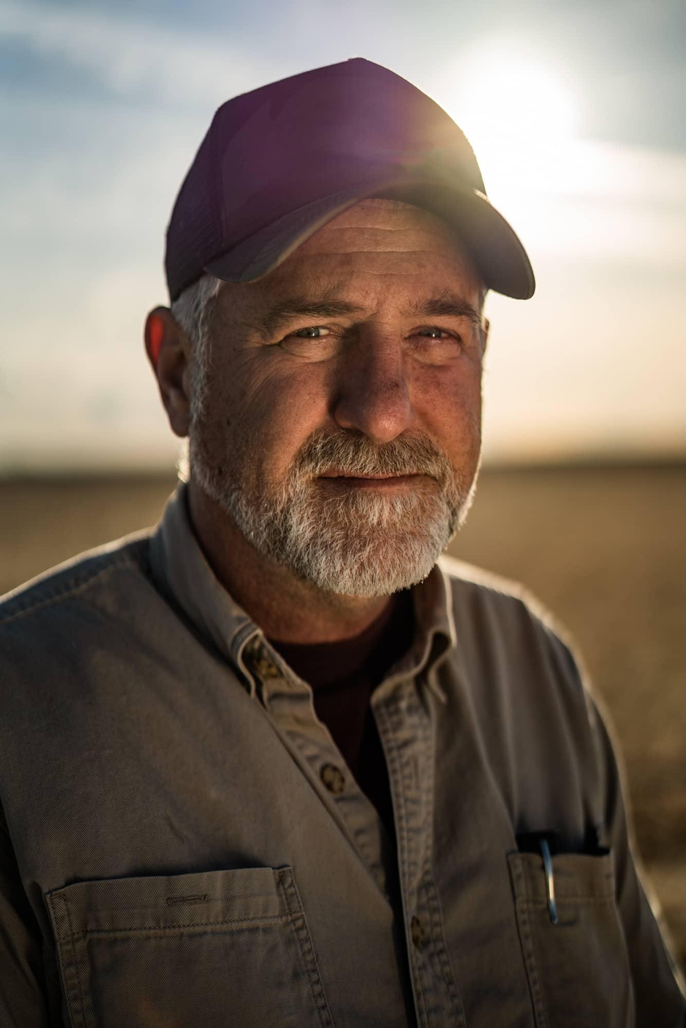 Farmer at Charlotte's Web